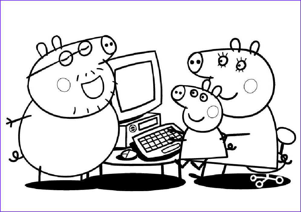 Coloring Pages Peppa Pig Inspirational Photography Immagini Da Colorare Peppa Pig