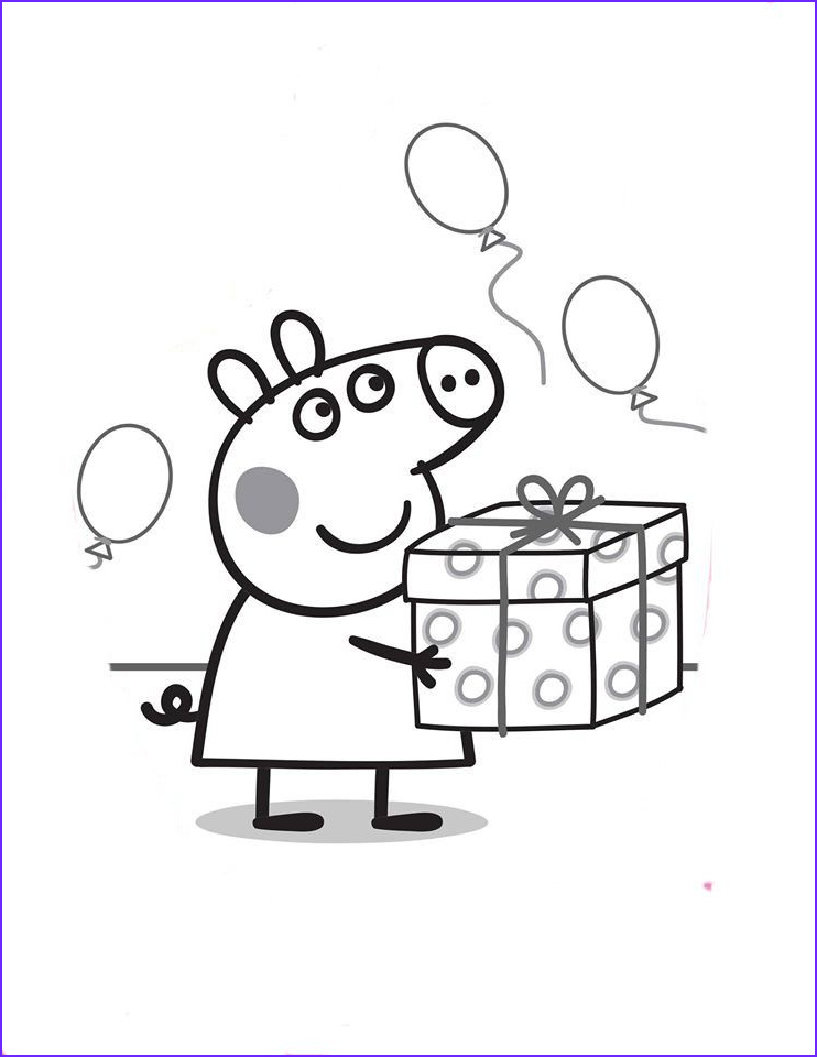 Coloring Pages Peppa Pig Luxury Stock Peppa Pig Coloring Pages Pinterest