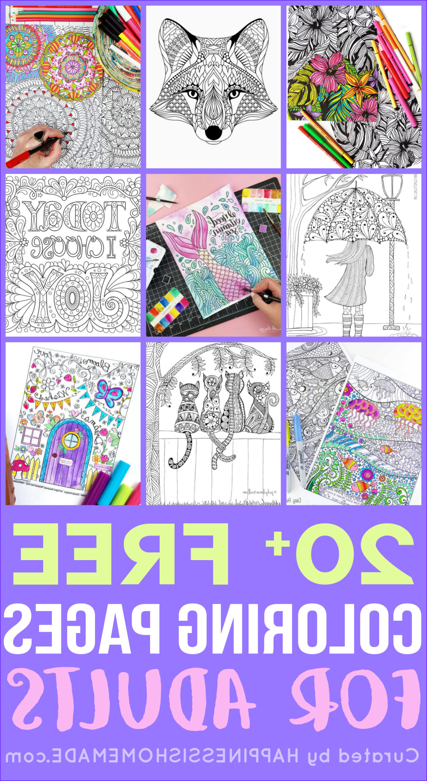 Coloring Pages Printable Adults Inspirational Stock Free Adult Coloring Pages Happiness is Homemade