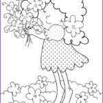 Coloring Pages To Print For Kids Awesome Image Free Printable Flower Coloring Pages For Kids Best
