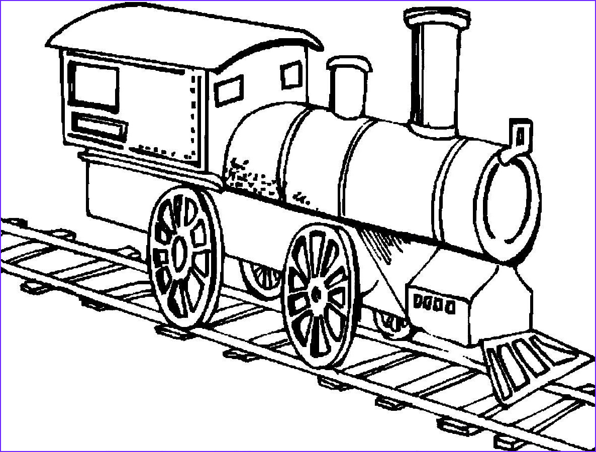 Coloring Pages Trains Best Of Photos Trains are Running the Track
