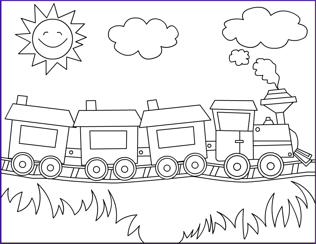 Coloring Pages Trains Luxury Photography Free Printable Train Coloring Pages for Kids