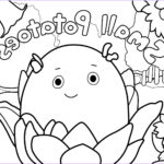 Coloring Pages Unique Image Erica Kepler Small Potatoes Coloring Pages