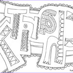 Coloring Pages With Words Beautiful Photos Word Coloring Pages Doodle Art Alley