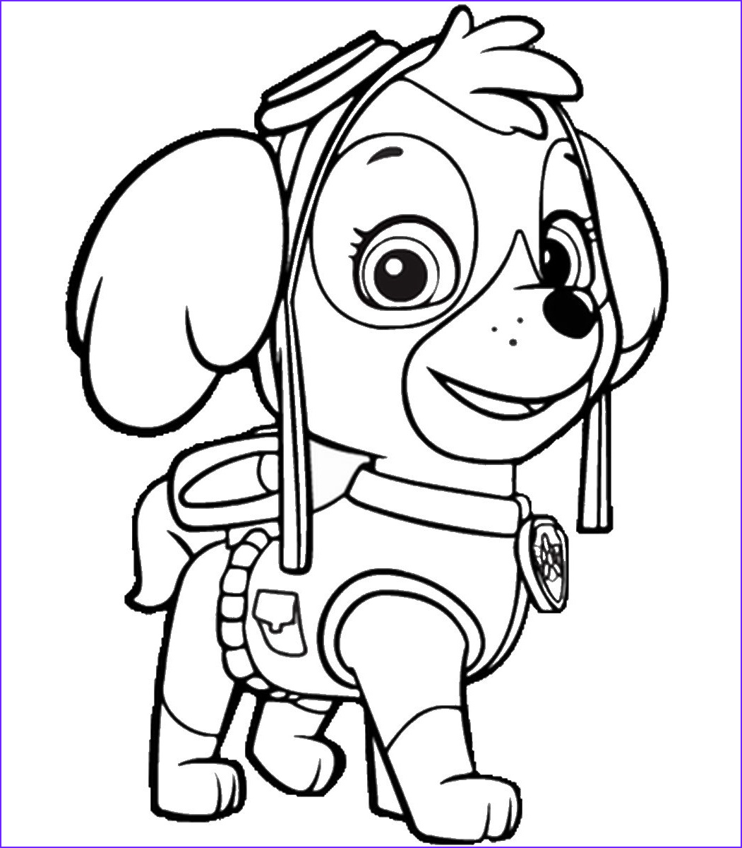 Coloring Paw Patrol Awesome Photos Paw Patrol Coloring Pages