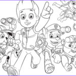 Coloring Paw Patrol Beautiful Gallery Paw Patrol Paw Patrol Group Colouring Pages For Preschoolers