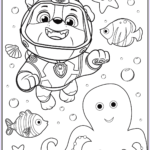 Coloring Paw Patrol Luxury Photos Free Printable Paw Patrol Coloring Pages for Kids