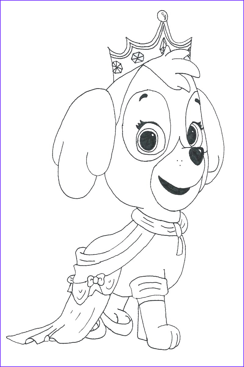 Coloring Paw Patrol Luxury Photos Paw Patrol Coloring Pages