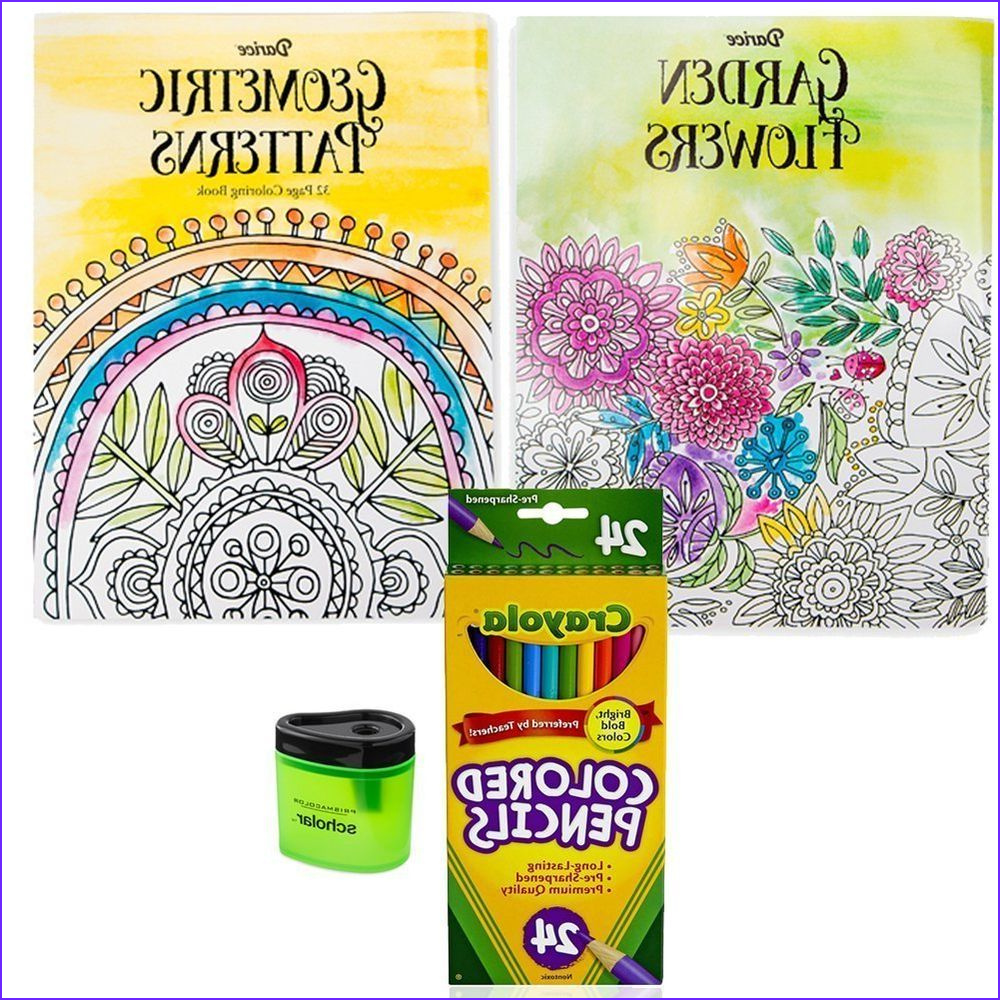 Coloring Pencils for Adults Beautiful Gallery 2 Coloring Books for Adults Crayola Colored Pencils 24