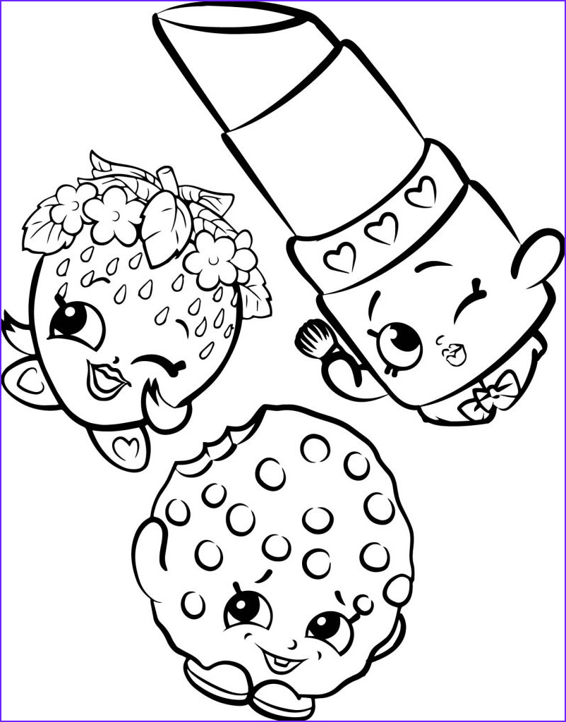 Coloring Pics Cool Image Shopkins Coloring Pages Best Coloring Pages for Kids