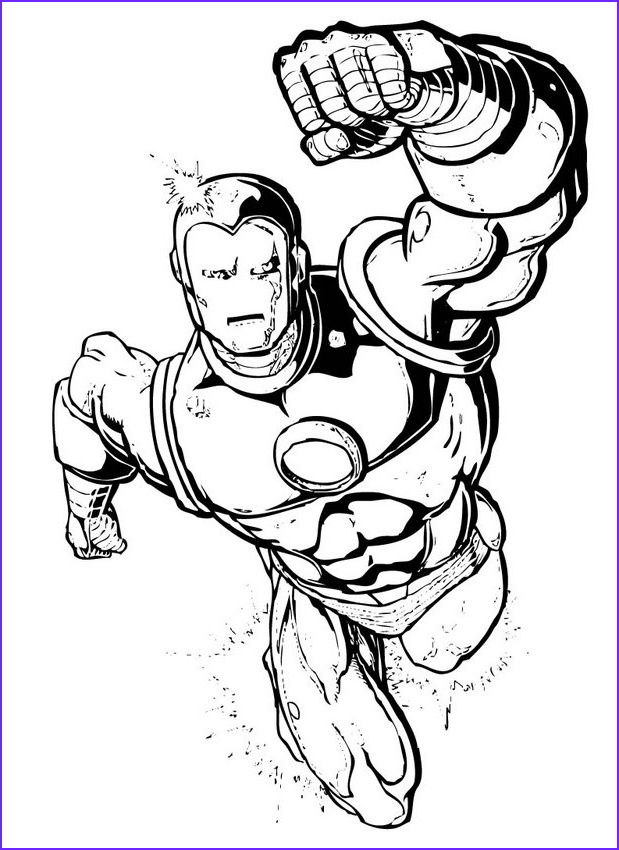 Coloring Pics Inspirational Collection Download Free Superhero Coloring Pages