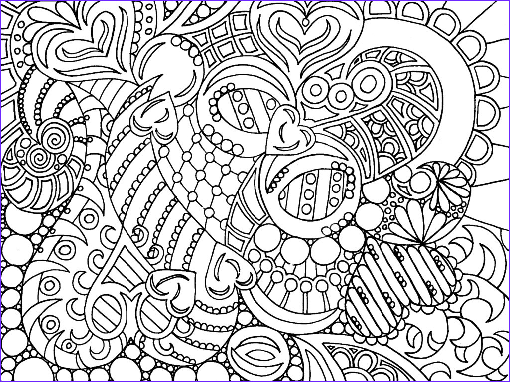 Coloring Pictures for Adults New Gallery Hard Coloring Pages for Adults Best Coloring Pages for Kids