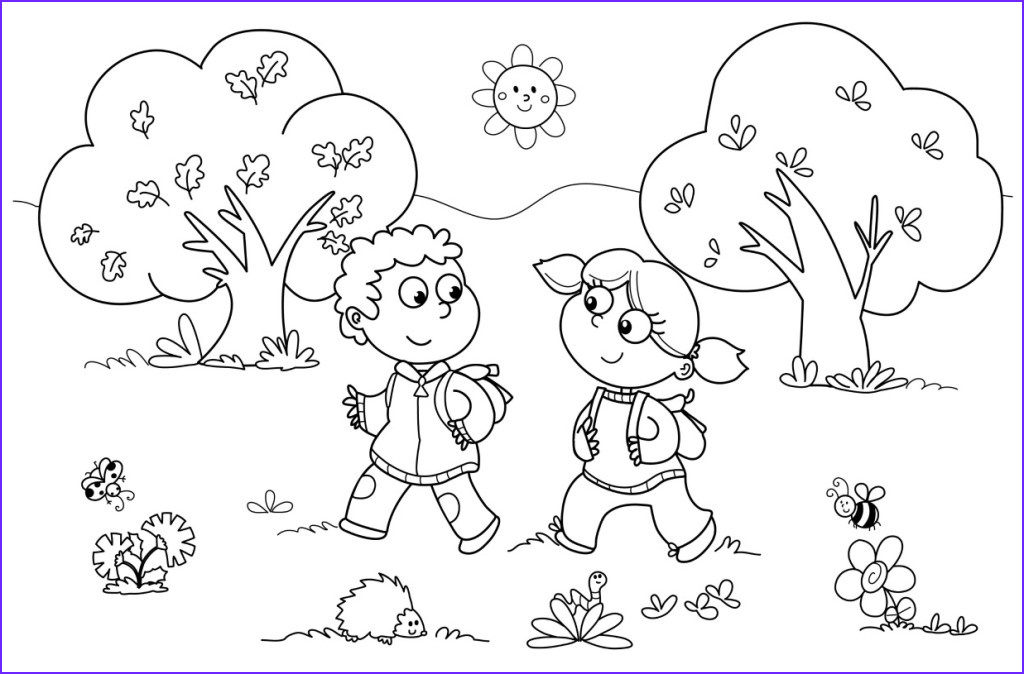 Coloring Pictures for Kids Beautiful Images Preschool Coloring Pages