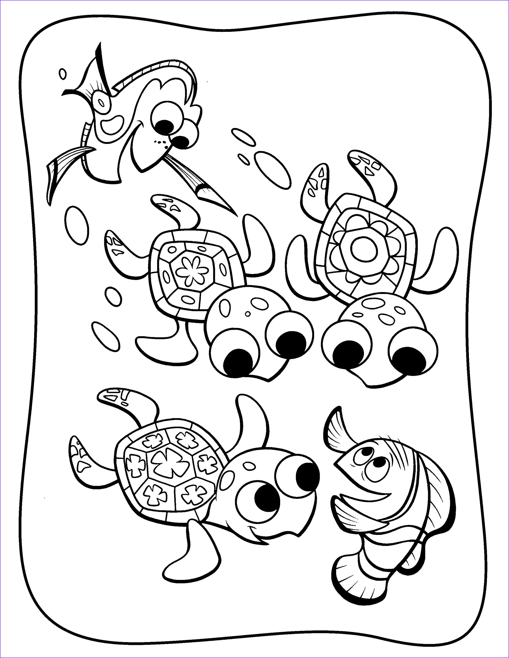 Coloring Pictures for Kids Best Of Photos Dory Coloring Pages Best Coloring Pages for Kids