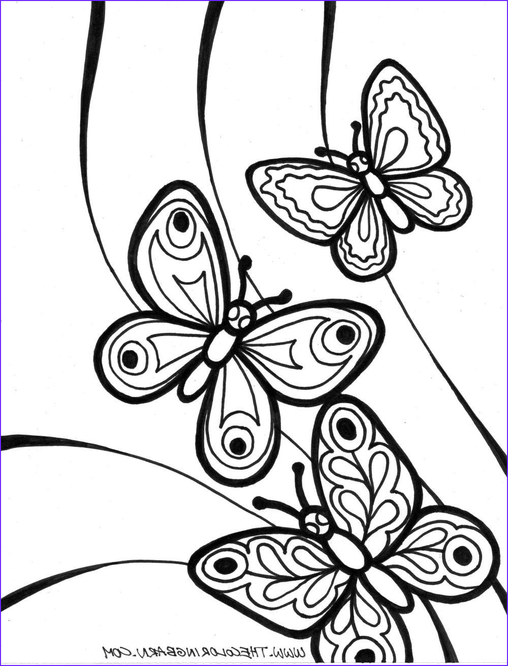 Coloring Pictures Of Flowers and butterflies Beautiful Photography Images Of butterflies Coloing Pages