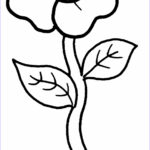Coloring Pictures Of Flowers Awesome Stock Free Printable Flower Coloring Pages For Kids Best