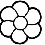 Coloring Pictures Of Flowers Beautiful Photos Drawing 8 Flowers Simple Coloring For Children