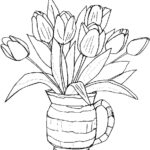 Coloring Pictures Of Flowers Luxury Image Free Printable Flower Coloring Pages For Kids Best