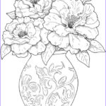 Coloring Pictures Of Flowers New Collection Flower Coloring Pages For Adults Best Coloring Pages For