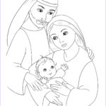 Coloring Pictures Of Jesus Beautiful Collection Jesus Mary And Joseph Coloring Page