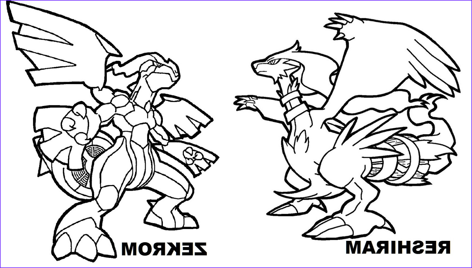 free legendary pokemon coloring pages