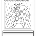 Coloring Postcards Beautiful Photos Yu Gi Oh Card Coloring Page