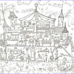 Coloring Poster Awesome Image Princess Palace Colouring Poster – Reallygiantposters