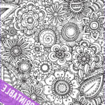 Coloring Poster Awesome Images Printable Coloring Tablecloths And Posters The Crafting