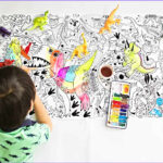 Coloring Poster Beautiful Image Large Illustrated Coloring Posters For Kids From Little