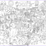 Coloring Poster Best Of Collection Zoo Colouring In Poster – Reallygiantposters