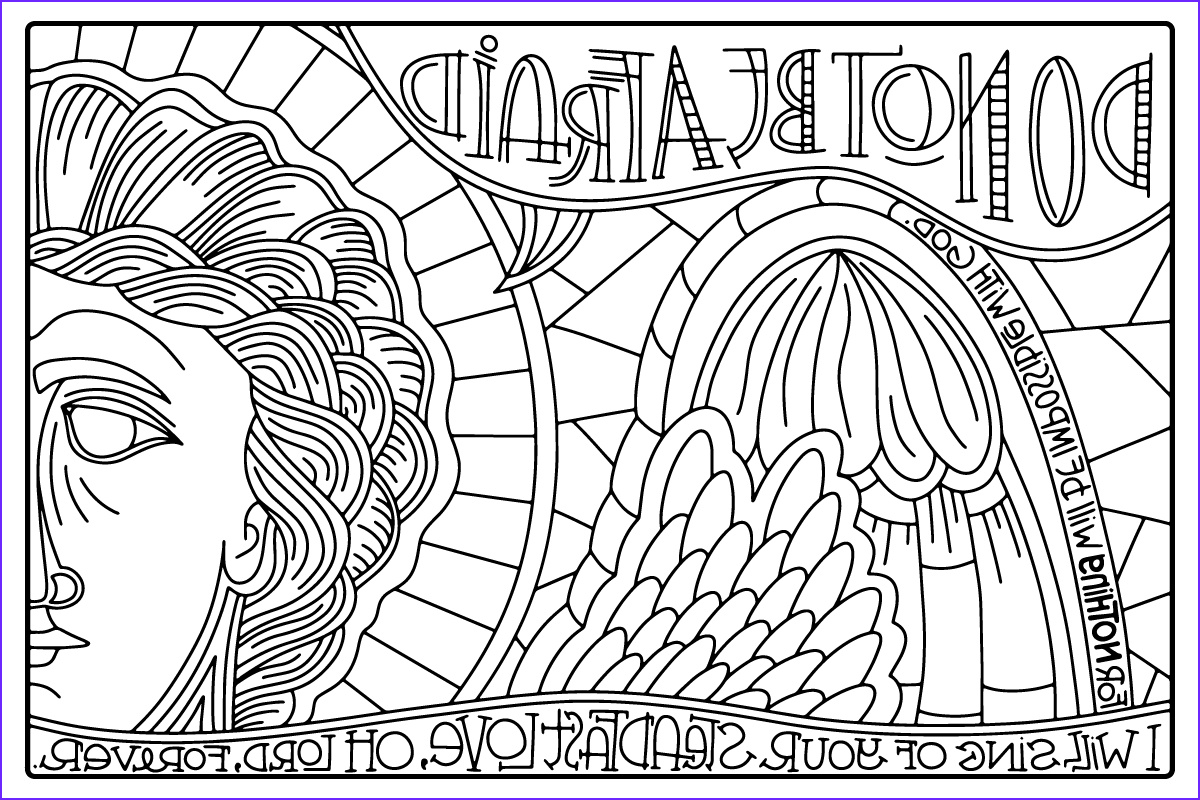 advent journey coloring posters