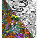 Coloring Poster New Photos Amazon The Original Doodleart Fairy Tales Coloring