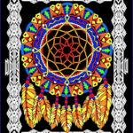 Coloring Poster New Photos Dream Catcher 16×20 Inch Fuzzy Velvet Coloring