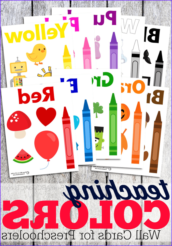color cards for toddlers
