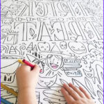 Coloring Posters Elegant Stock Giant Halloween Coloring Poster