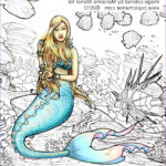Coloring Posters Luxury Photography I Like Markers Line Art Posters & Mermaid