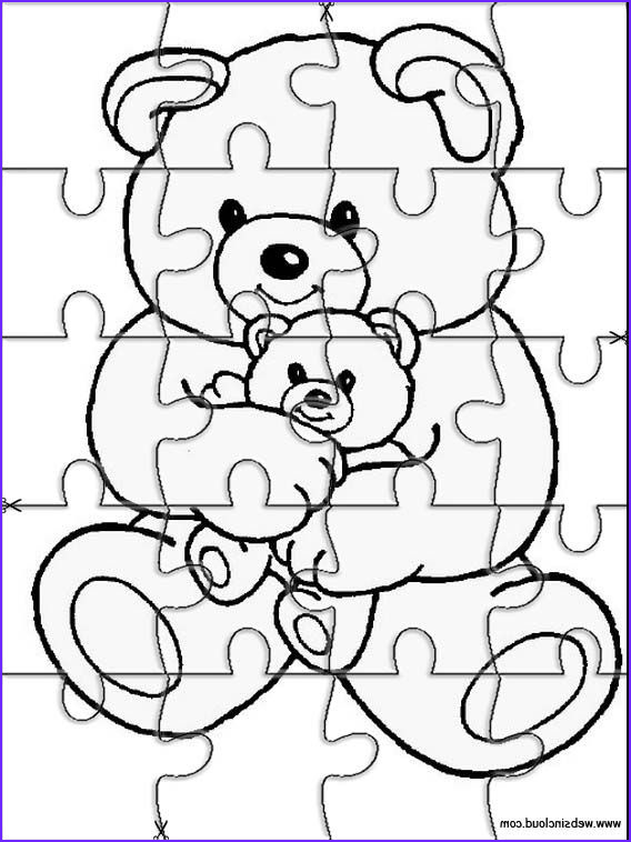 Coloring Puzzles Beautiful Images Printable Jigsaw Puzzles to Cut Out for Kids Animals 11