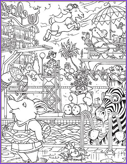 Coloring Puzzles Beautiful Photos Hidden Pictures Printables Highlights