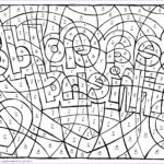 Coloring Puzzles Elegant Collection Find The Hidden Message