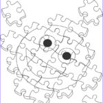 Coloring Puzzles Elegant Collection Puzzles Drawing At Getdrawings
