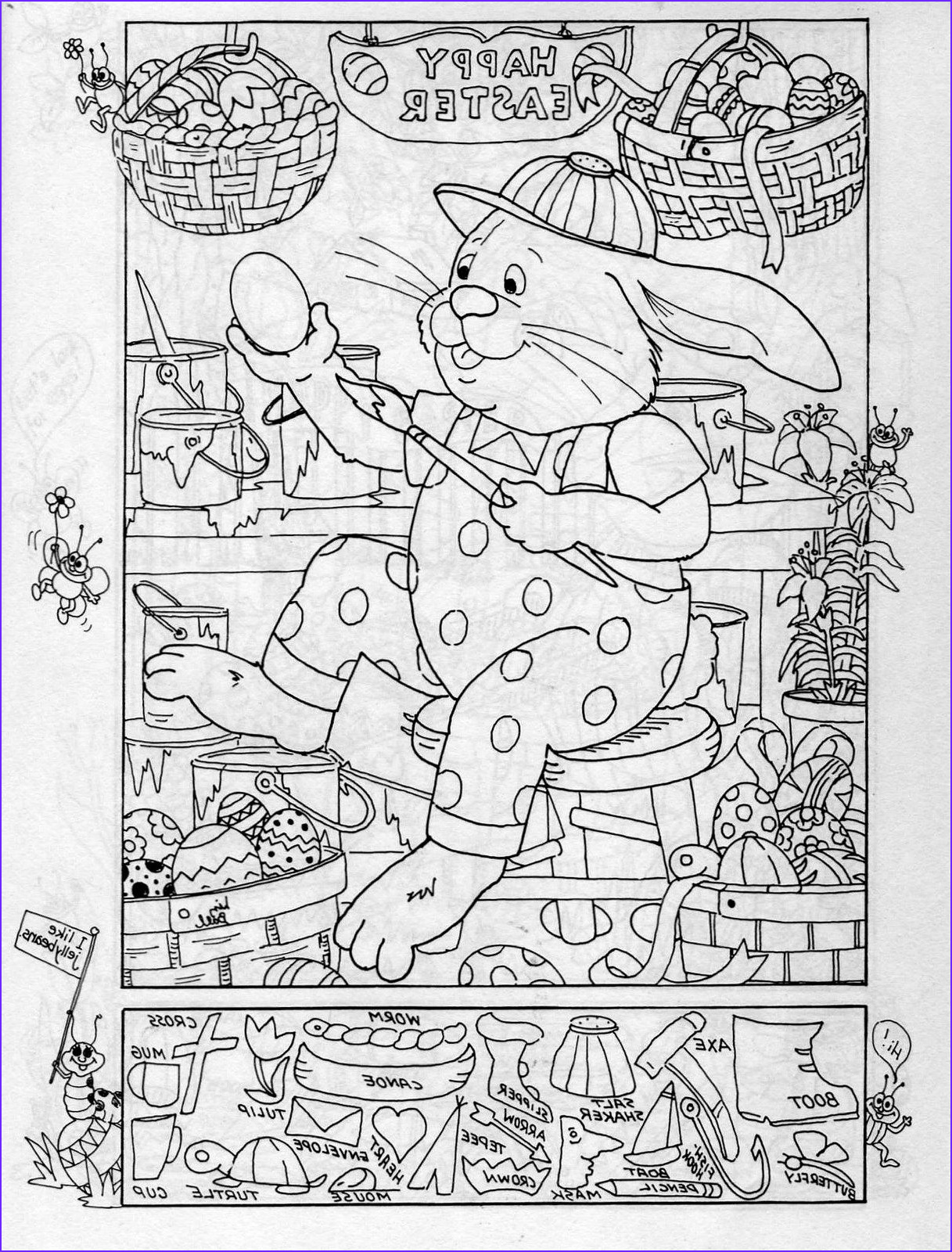 Coloring Puzzles Inspirational Collection Hidden Publishing Easter Hidden Picture Puzzle