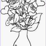 Coloring Roses Awesome Stock Colours Drawing Wallpaper Beautiful And Lovely Vase