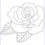 Coloring Roses Luxury Images Rose Coloring Pages Bestofcoloring