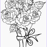 Coloring Roses New Collection Printable Rose Coloring Pages For Kids