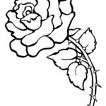 Coloring Roses New Images Free Printable Flower Coloring Pages For Kids Best