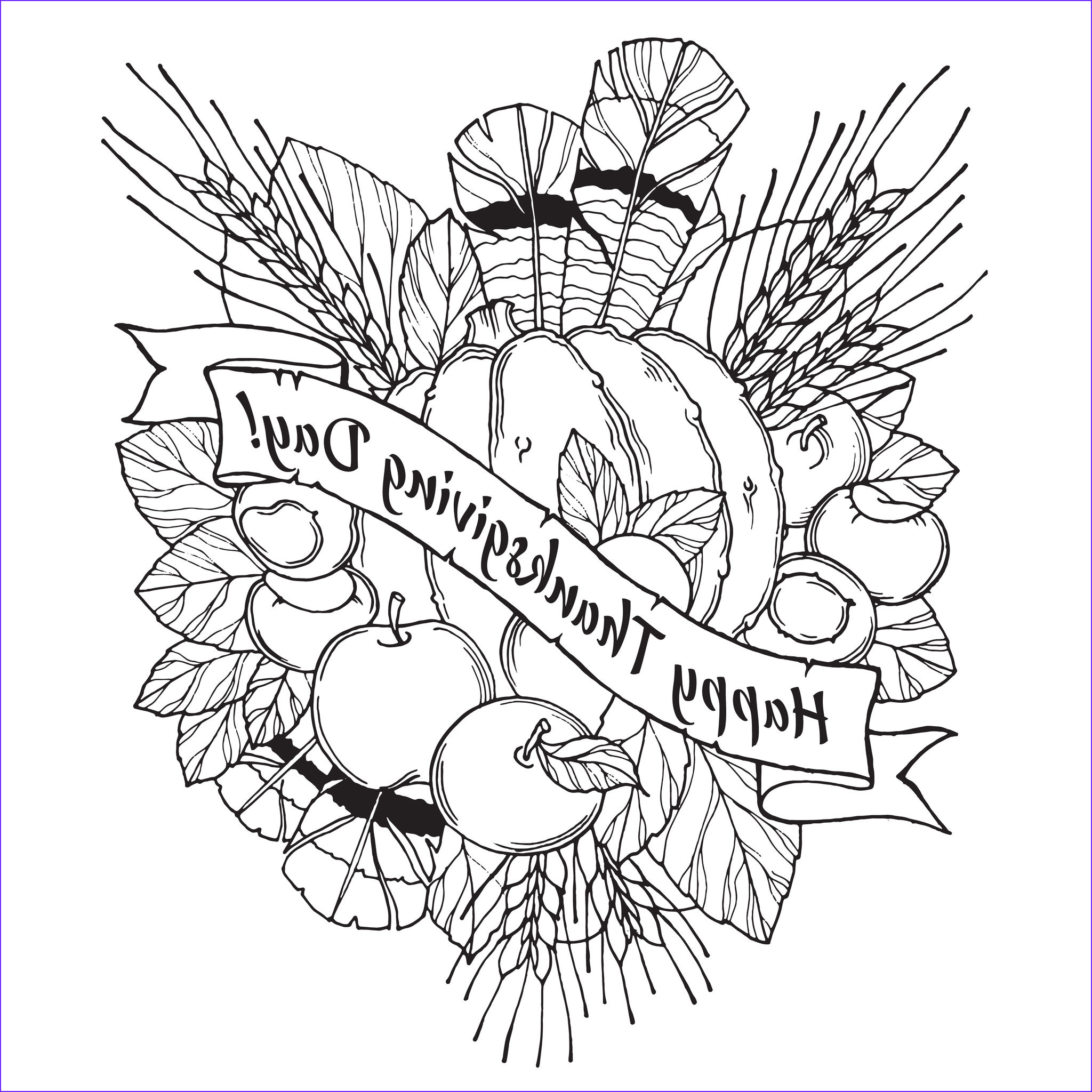 Coloring Sheets For Adults Cool Image Thanksgiving Coloring Pages For Adults To And