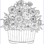 Coloring Sheets For Adults Flowers Beautiful Photos 278 Best Doodle Flowers Images On Pinterest
