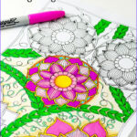 Coloring Sheets For Adults Flowers Beautiful Photos Flowers Coloring Page Easy Peasy And Fun