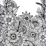 Coloring Sheets For Adults Flowers Beautiful Stock 1179 Best Images About Adult Colouring Flowers On
