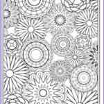 Coloring Sheets For Adults Flowers Best Of Collection Flower Coloring Pages For Adults Best Coloring Pages For